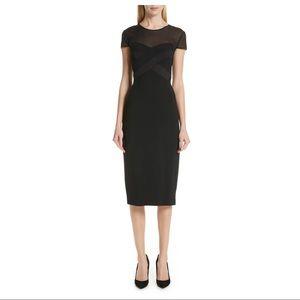 NEW MaxMara Black Bracco Midi Dress